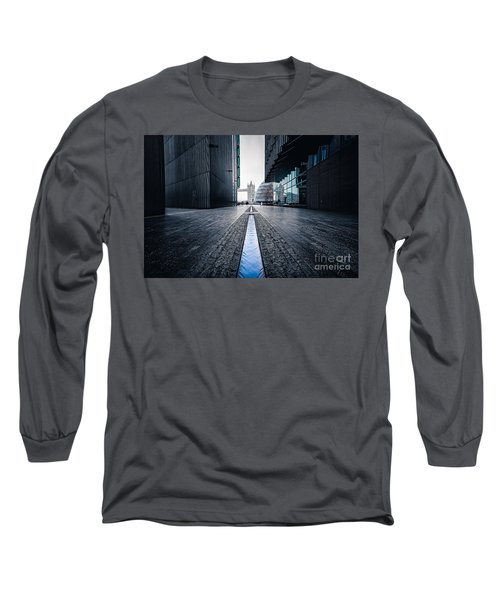 The Stream Of Time Long Sleeve T-Shirt