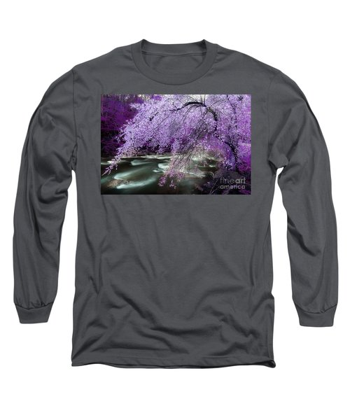 The Stream's Healing Rhythm Long Sleeve T-Shirt