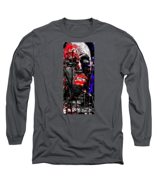 Long Sleeve T-Shirt featuring the digital art The Suffering by Rc Rcd