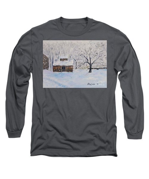 The Sugar House Long Sleeve T-Shirt by Stanton Allaben