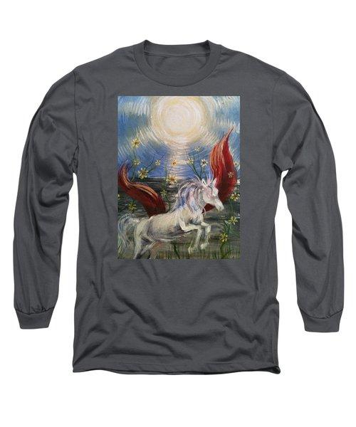 the Sun Long Sleeve T-Shirt by Karen  Ferrand Carroll