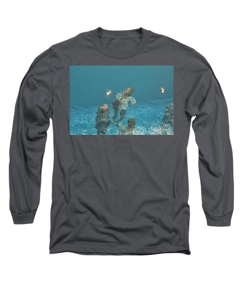 The Swimming Pool Long Sleeve T-Shirt