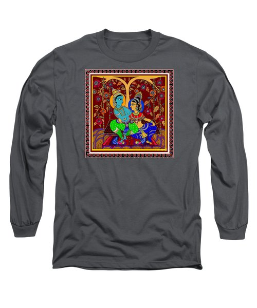 Long Sleeve T-Shirt featuring the digital art The Swinging Passions                         by Latha Gokuldas Panicker
