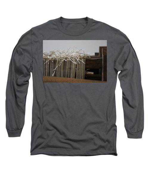 The Tales We Weave In Sepia Photograph Long Sleeve T-Shirt