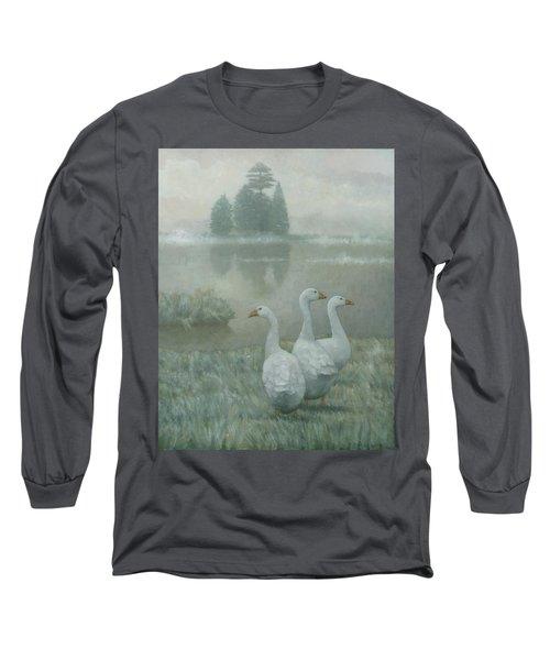 The Three Geese Long Sleeve T-Shirt