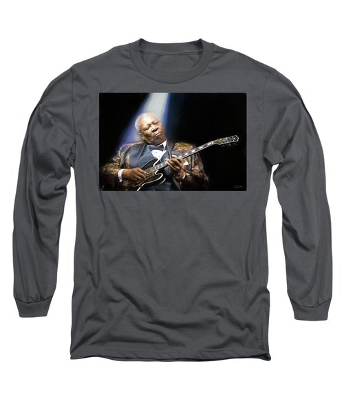 The Thrill Is Gone Long Sleeve T-Shirt by Peter Chilelli