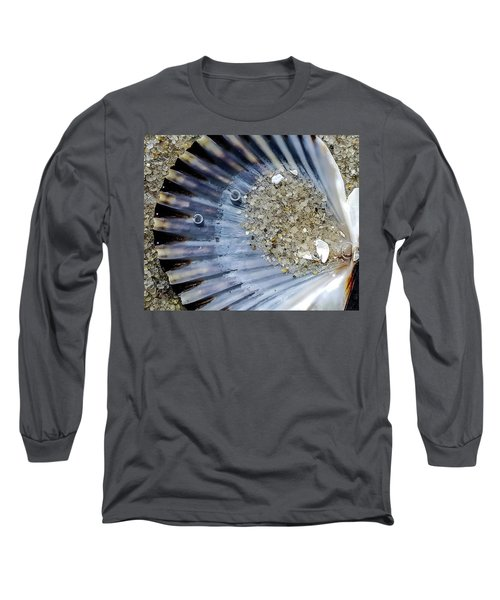 Long Sleeve T-Shirt featuring the photograph The Tides Edge by Bruce Carpenter