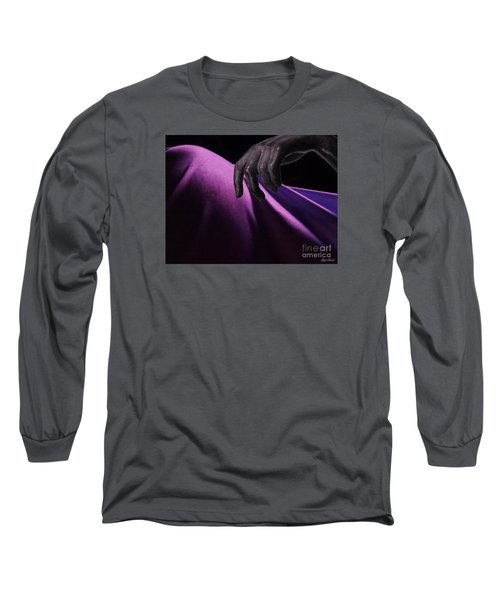 Long Sleeve T-Shirt featuring the digital art The Touch by Lyric Lucas