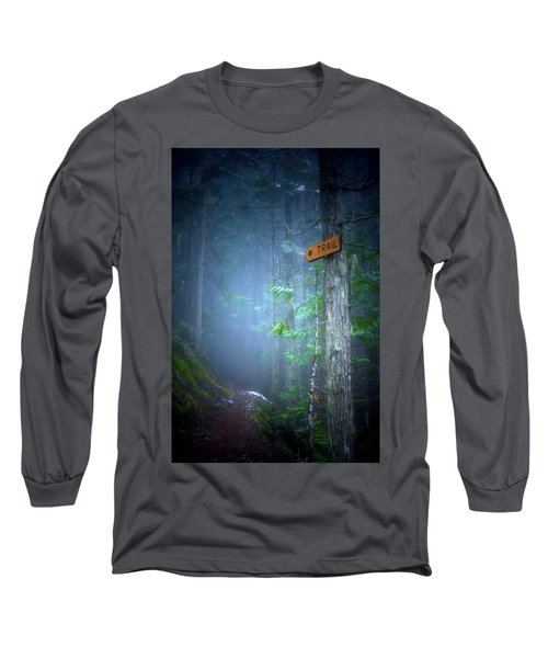 Long Sleeve T-Shirt featuring the photograph The Trail by Tara Turner