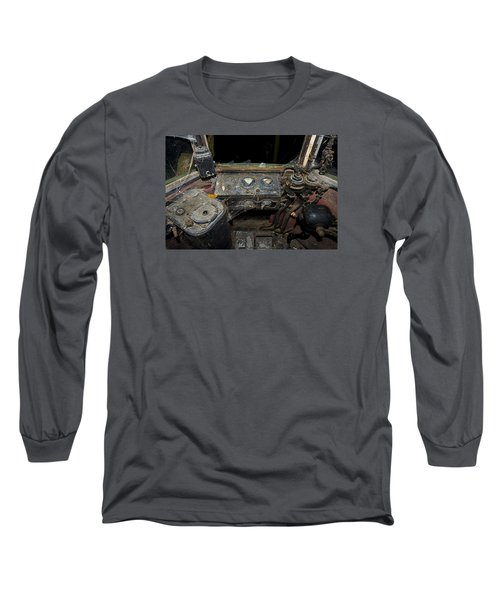 The Tram Leaves The Station... Instruments Long Sleeve T-Shirt