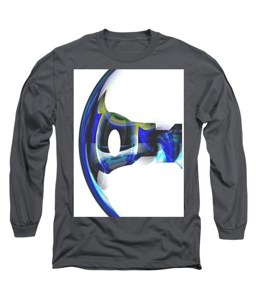 The Transparency Bow Long Sleeve T-Shirt by Thibault Toussaint