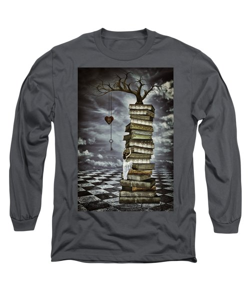 The Tree Of Love Long Sleeve T-Shirt by Mihaela Pater