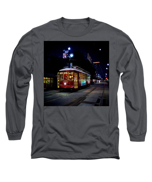 Long Sleeve T-Shirt featuring the photograph The Trolley by Evgeny Vasenev