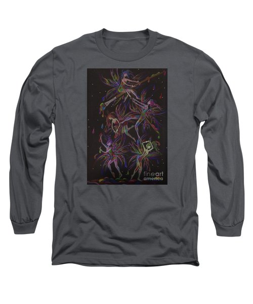 The Trouble With Paint Long Sleeve T-Shirt by Dawn Fairies