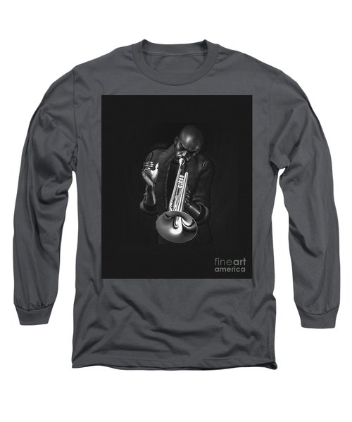 The Trumpet Player Long Sleeve T-Shirt