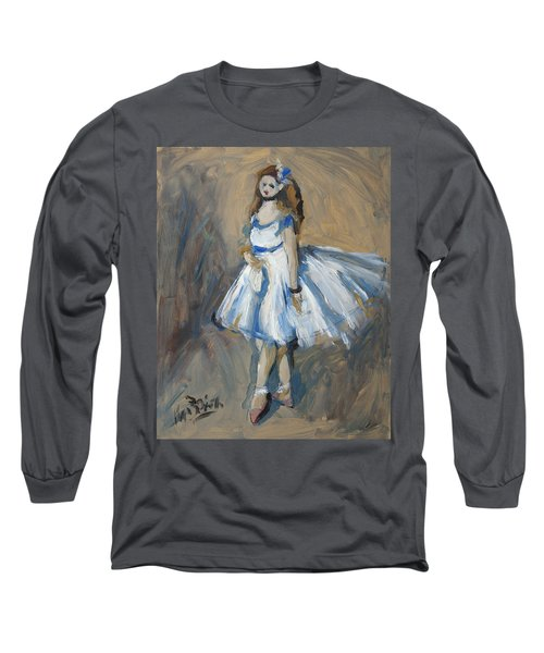 The Truth Lies Between Aguste Renoir And Marlene Dumas Long Sleeve T-Shirt by Nop Briex