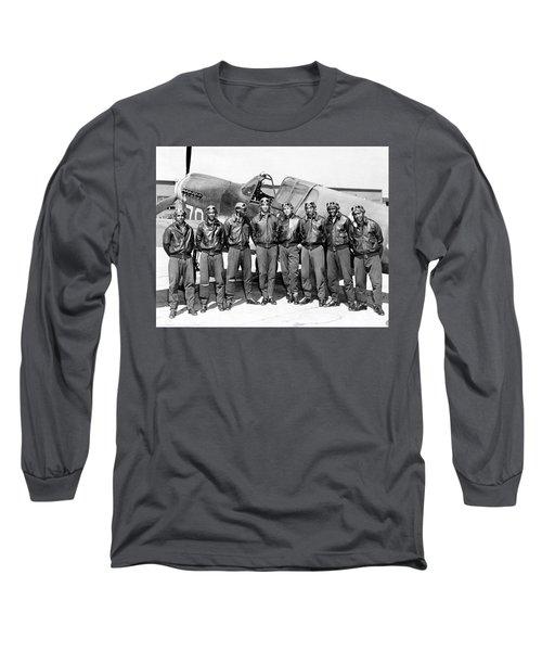 The Tuskegee Airmen Circa 1943 Long Sleeve T-Shirt