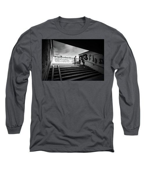 The Underpass Long Sleeve T-Shirt by John Williams