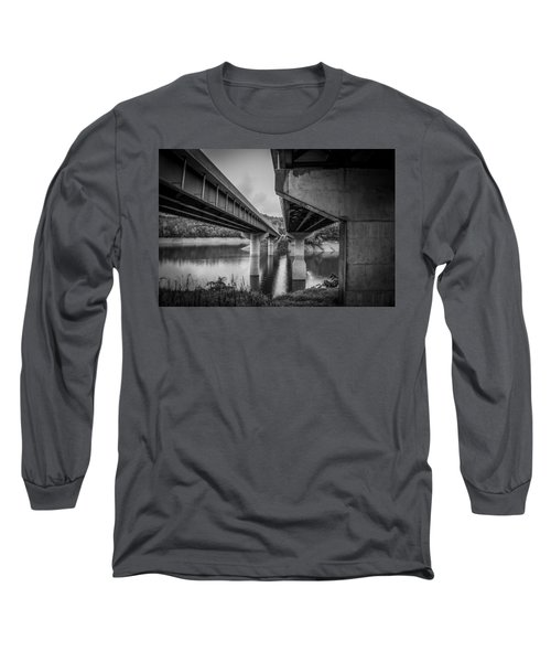 The Underside Of Two Bridges Long Sleeve T-Shirt