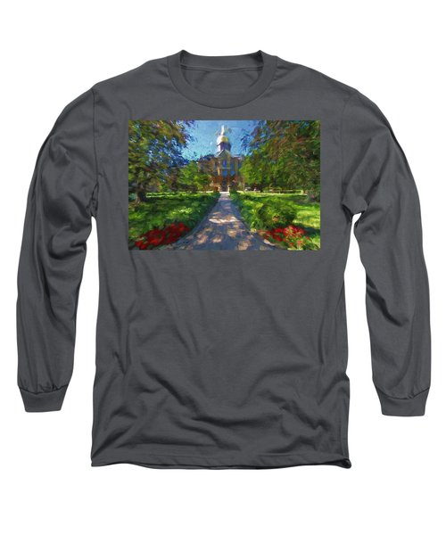 The University Of Notre Dame Long Sleeve T-Shirt