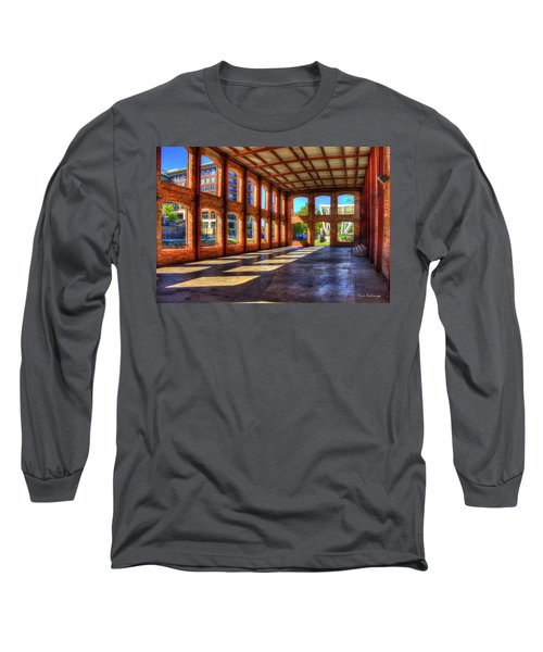 The Venue Old Mill Wedding Venue Reedy River South Caroline Art Long Sleeve T-Shirt by Reid Callaway