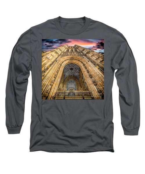 The Victoria Tower Long Sleeve T-Shirt