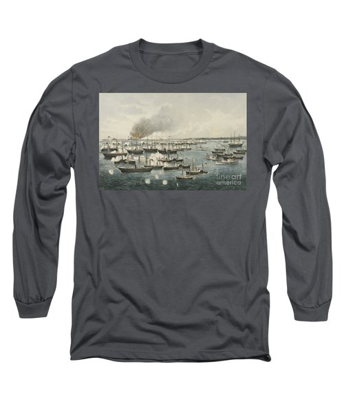 The Victorious Attack On Fort Fisher, 1865 Long Sleeve T-Shirt