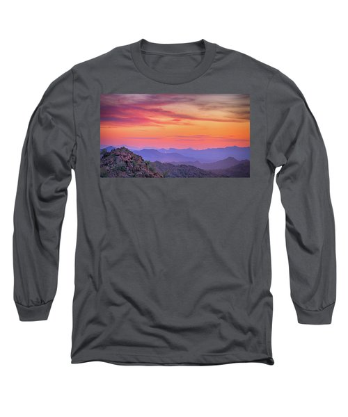 The View From Above Long Sleeve T-Shirt by Anthony Citro