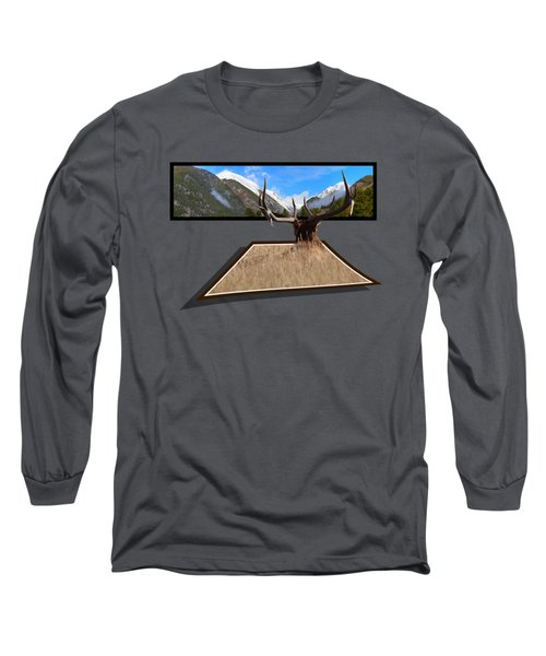 Long Sleeve T-Shirt featuring the photograph The View by Shane Bechler