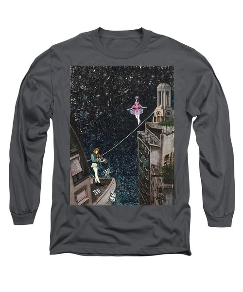 The Violinist And The Dancer Long Sleeve T-Shirt