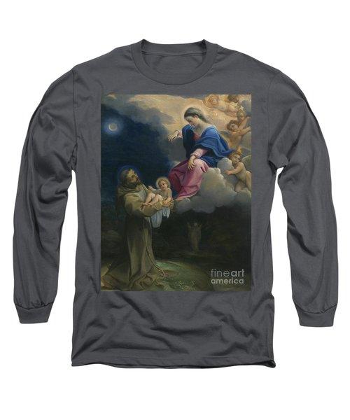The Vision Of Saint Francis Long Sleeve T-Shirt