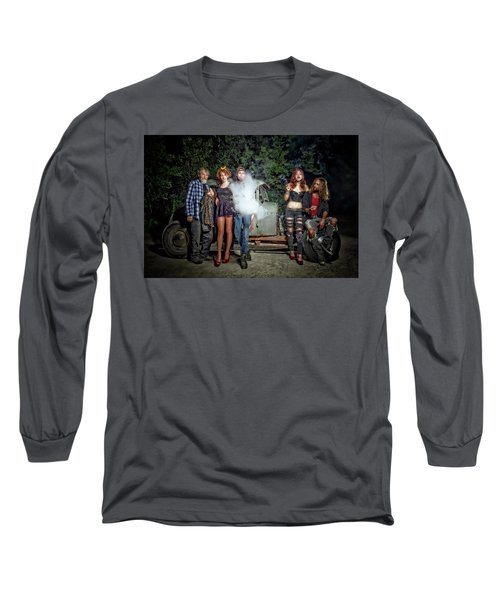 The Visitor Long Sleeve T-Shirt by Jerry Golab