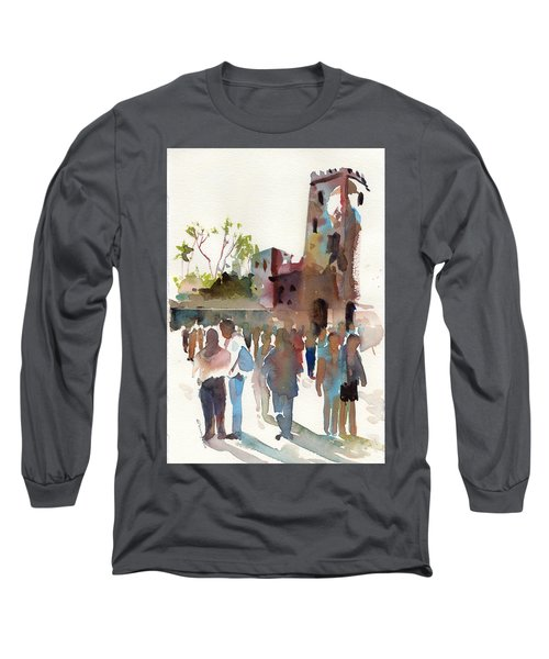 The Visitors Long Sleeve T-Shirt by P Anthony Visco