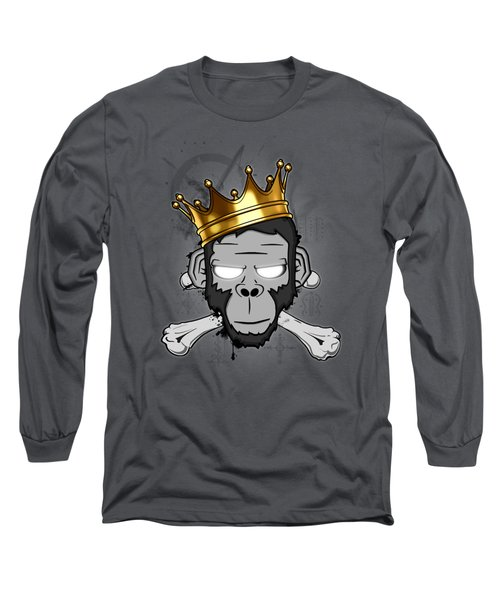 The Voodoo King Long Sleeve T-Shirt by Nicklas Gustafsson
