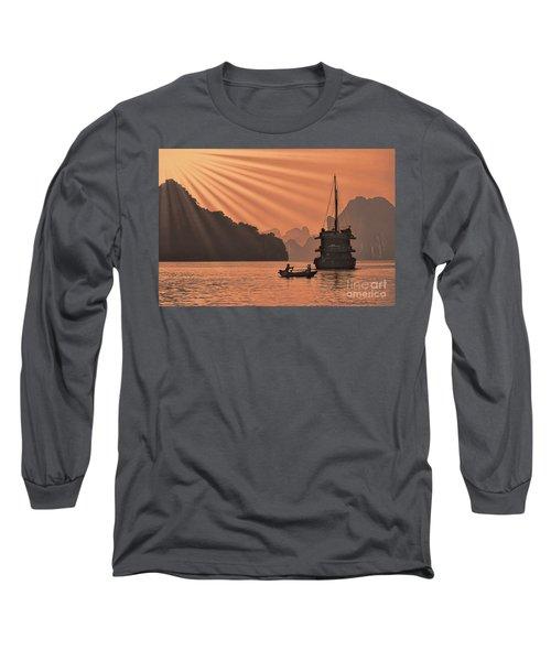 The Voyage Ha Long Bay Vietnam  Long Sleeve T-Shirt