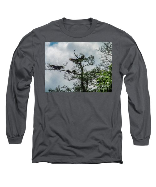 The Vultures Are Waiting Long Sleeve T-Shirt