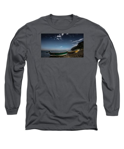 The Wait Long Sleeve T-Shirt by Peter Scott