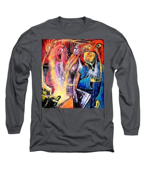 The Wake Long Sleeve T-Shirt by Kenneth Agnello