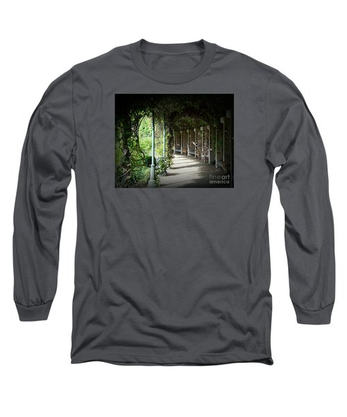 Long Sleeve T-Shirt featuring the photograph The Walkway by Lisa L Silva