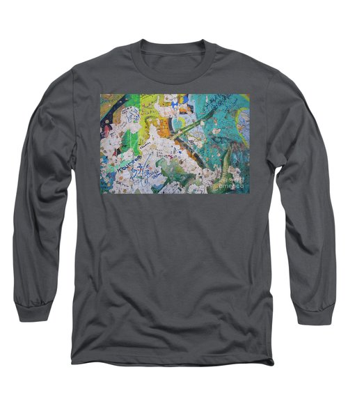 The Wall #8 Long Sleeve T-Shirt