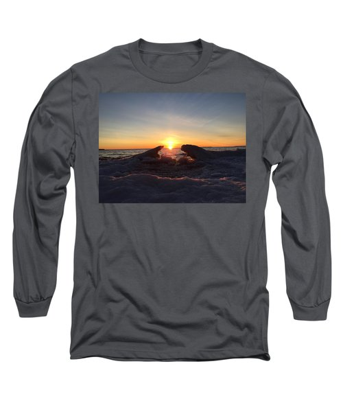Long Sleeve T-Shirt featuring the photograph The Walrus And The Bear by Paula Brown