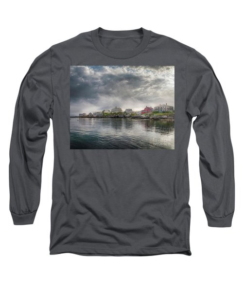 Monhegan Harbor View Long Sleeve T-Shirt