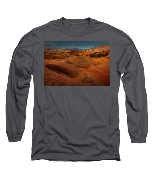 The Wash Of Subtle Shapes And Colors Long Sleeve T-Shirt