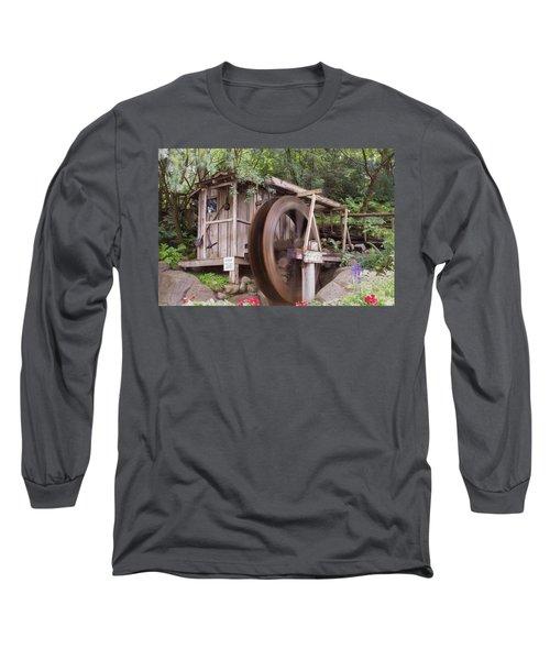 The Water Wheel Keeps Turning ... Long Sleeve T-Shirt