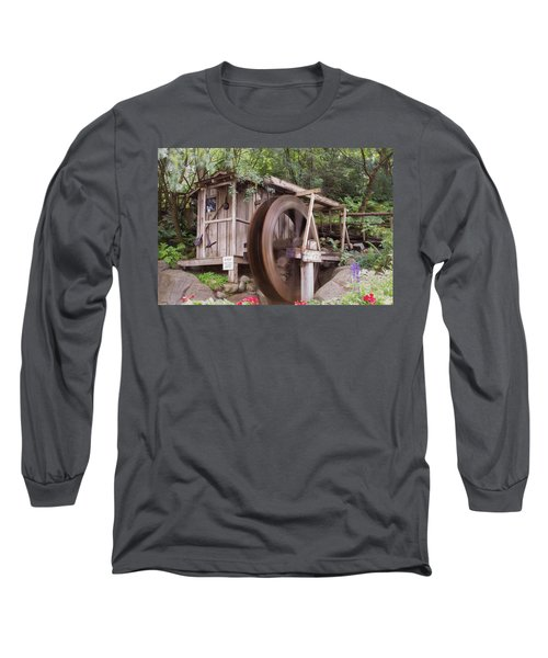 The Water Wheel Keeps Turning ... Long Sleeve T-Shirt