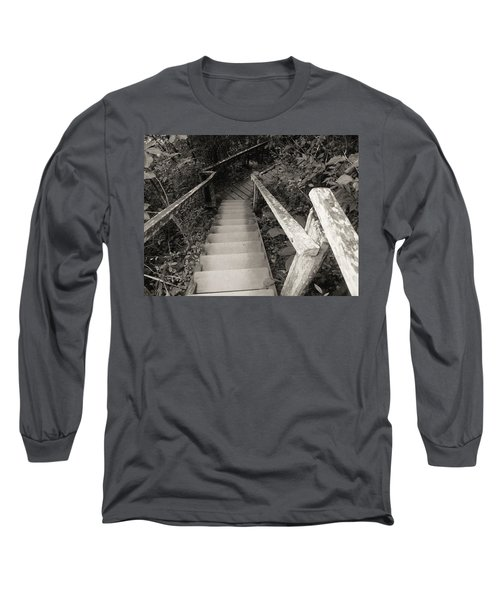 Long Sleeve T-Shirt featuring the photograph The Way by Beto Machado