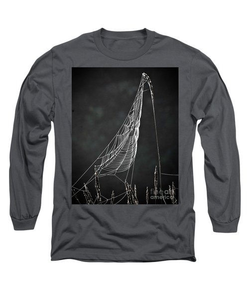 Long Sleeve T-Shirt featuring the photograph The Web by Tom Cameron