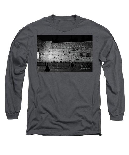 The Western Wall, Jerusalem Long Sleeve T-Shirt