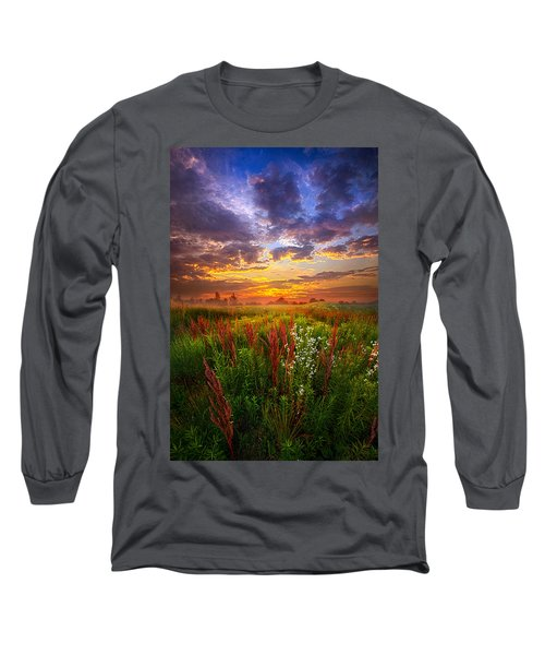 The Whispered Voice Within Long Sleeve T-Shirt