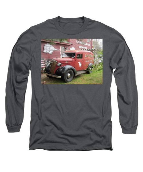The White Elephant Long Sleeve T-Shirt by Paul Meinerth